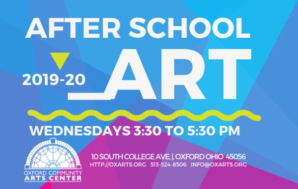 Take Part In Art!  After School Art