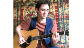 Guitar: Chords and Songs II – Virtual Course via Zoom